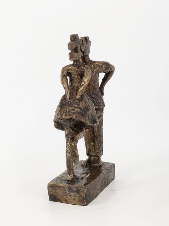 PERFECT MATCH II – äkta brons