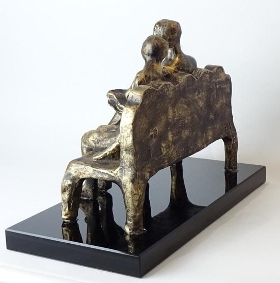 TILLSAMMANS – brons patinerad