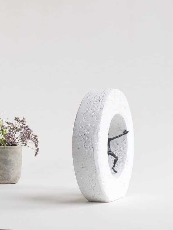 FÖRÄNDRING KOMMER INIFRÅN– äkta brons