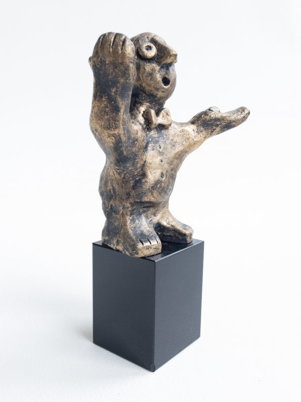 DEN ALLSIDIGA – brons patinerad