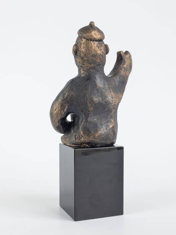 DEN AMBITIÖSA – brons patinerad