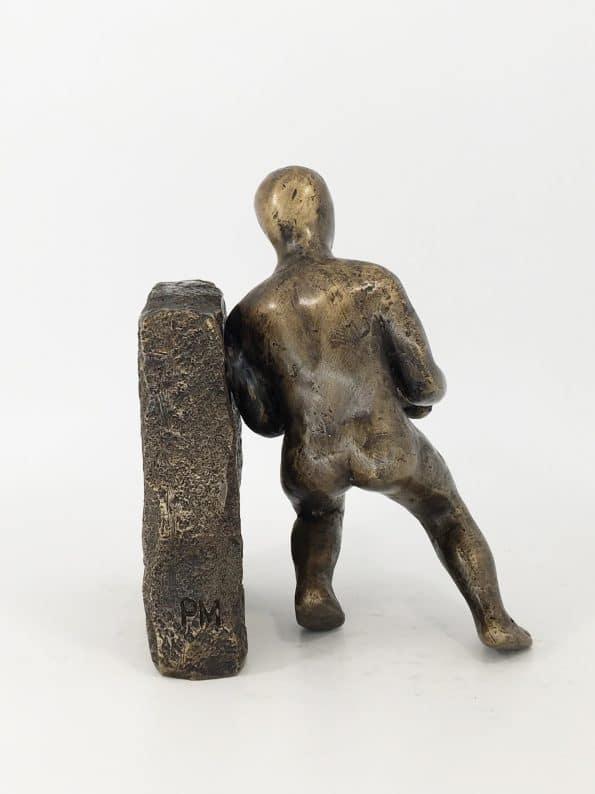 MANPOWER – äkta brons