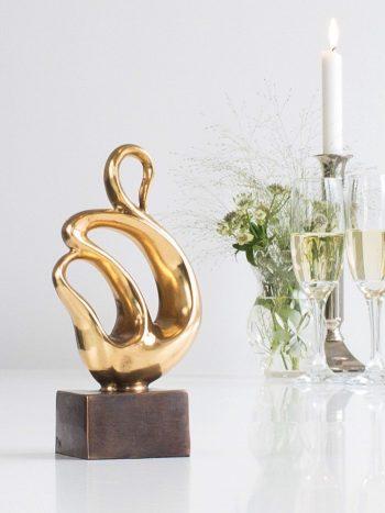 FORTROLIGHED - ægte bronze