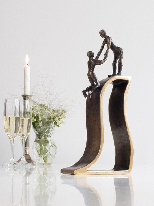 SAMMENHOLD - ægte bronze