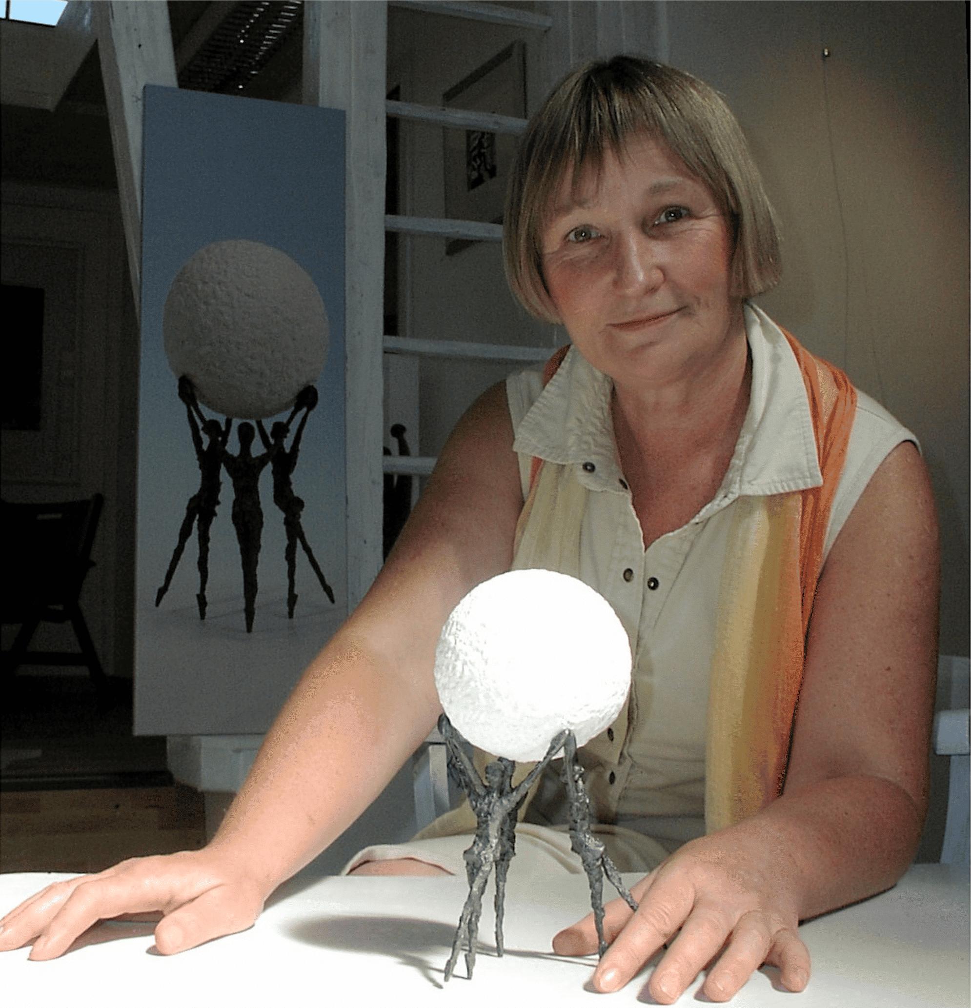 Om kunstneren Louise Kött-Gärtner