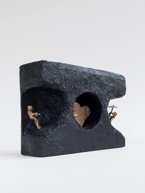 HITTA KÄRLEKEN – äkta brons