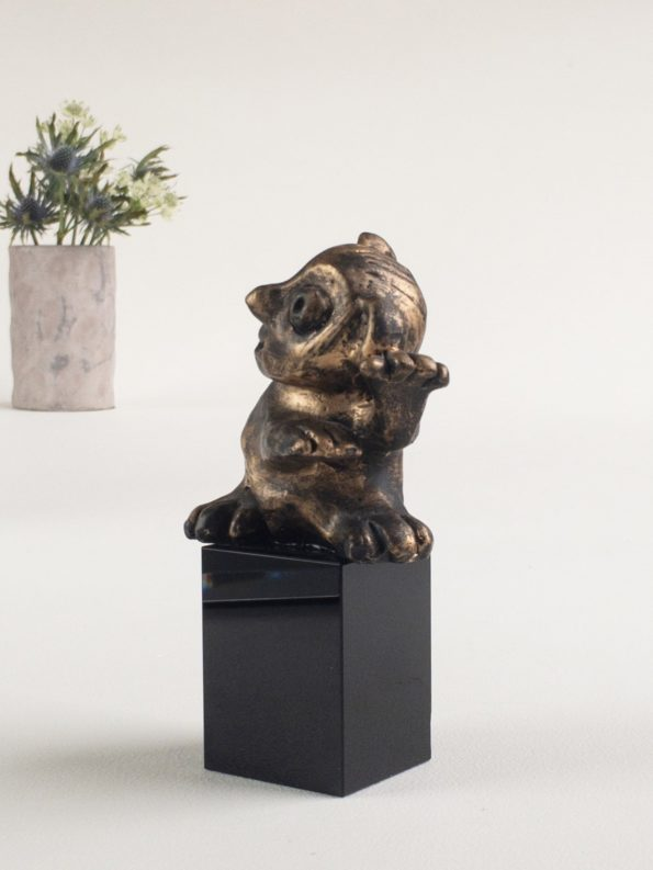 DEN FLITIGA – brons patinerad