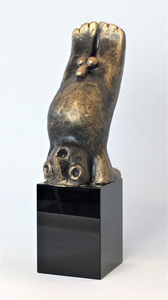 DEN KREATIVA – brons patinerad