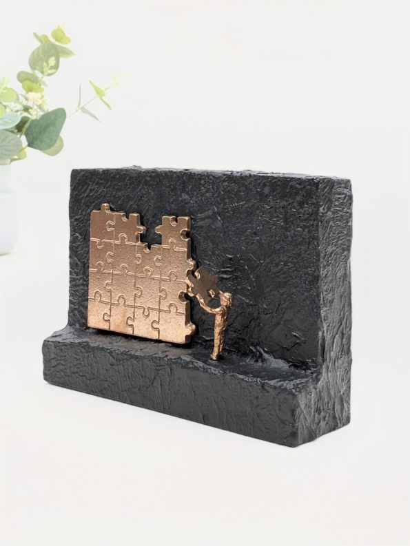 MITT BIDRAG – äkta brons
