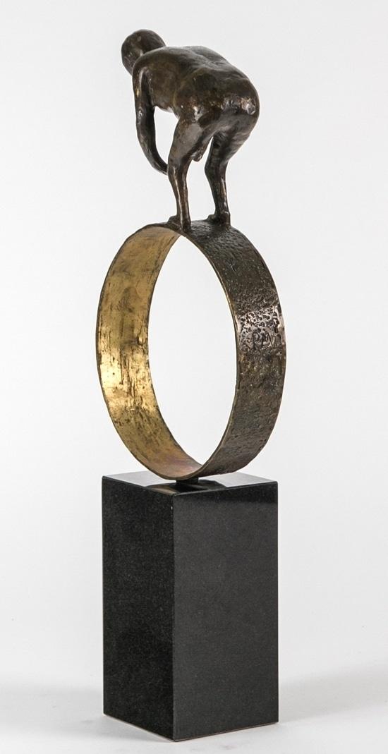 BALANS – äkta brons