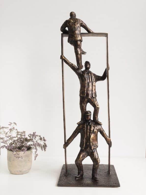 Tilsammans kommer vi längst – äkta brons