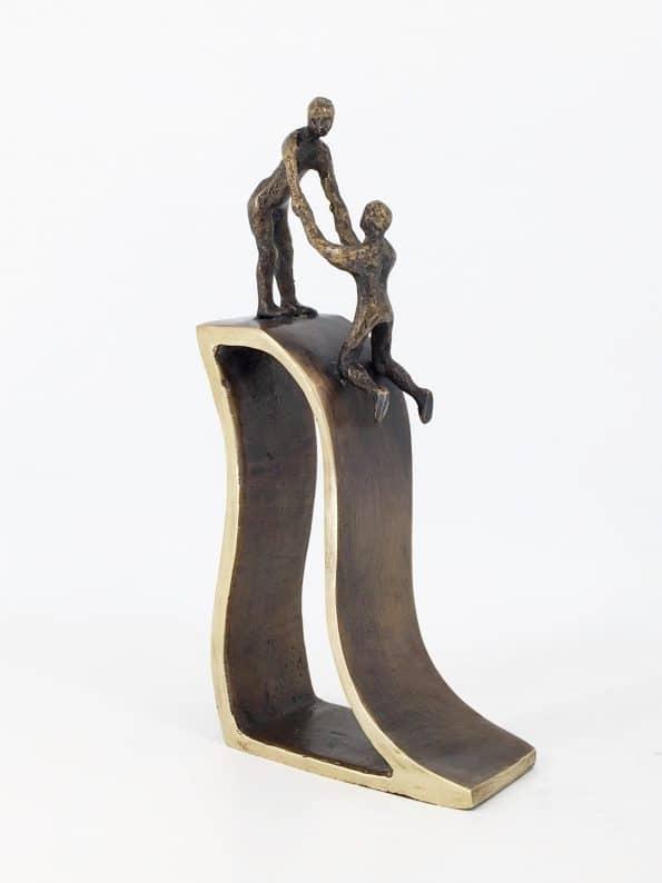 ENIGHET – äkta brons