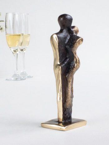 KÄRLEK – äkta brons