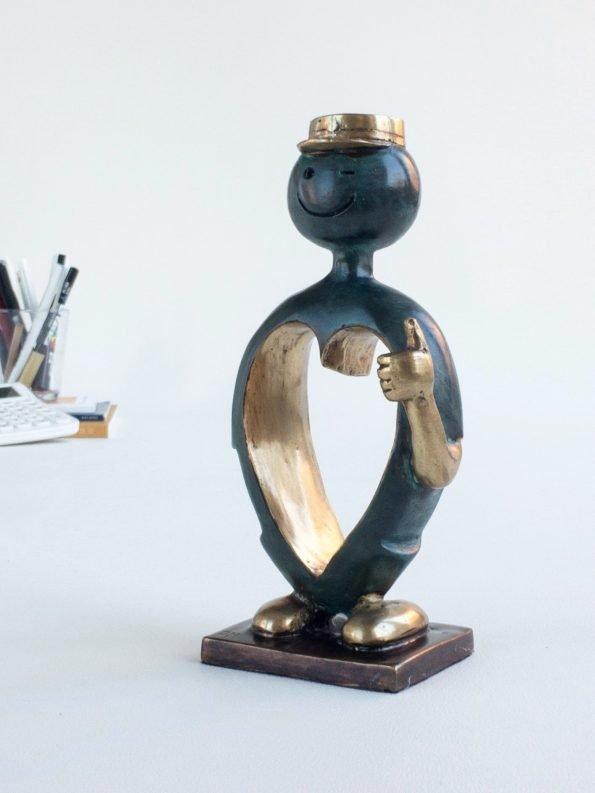 STUDENTEN – äkta brons