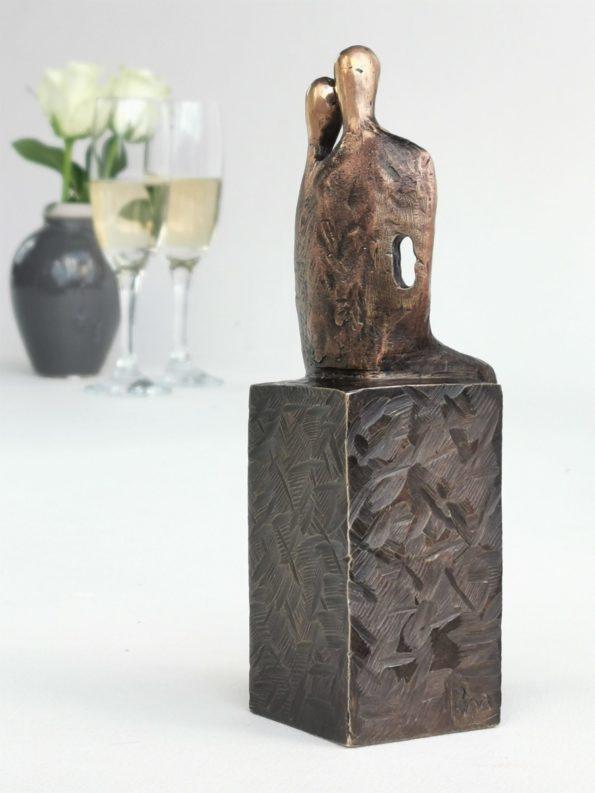 Tvåsamhet - äkte brons