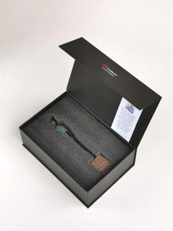 SKABT FOR HINANDEN 29 cm - ægte bronze