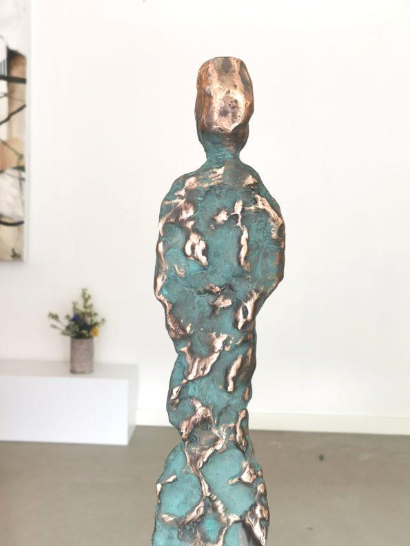 Gejserkvinna - äkte brons