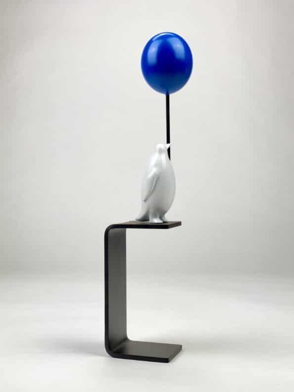 En hav av möjligheter - blå ballong