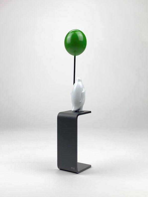 En hav av möjligheter - grön ballong