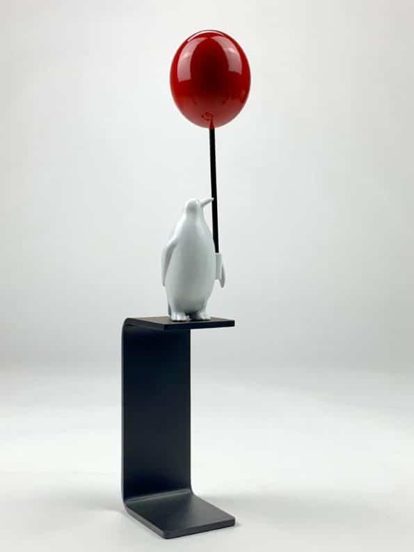 En hav av möjligheter - röd ballong