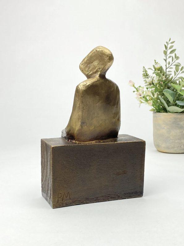 Nya horisonter - äkte brons